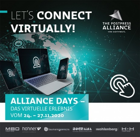 Postpress Alliance virtuelle Open House - Save the Date